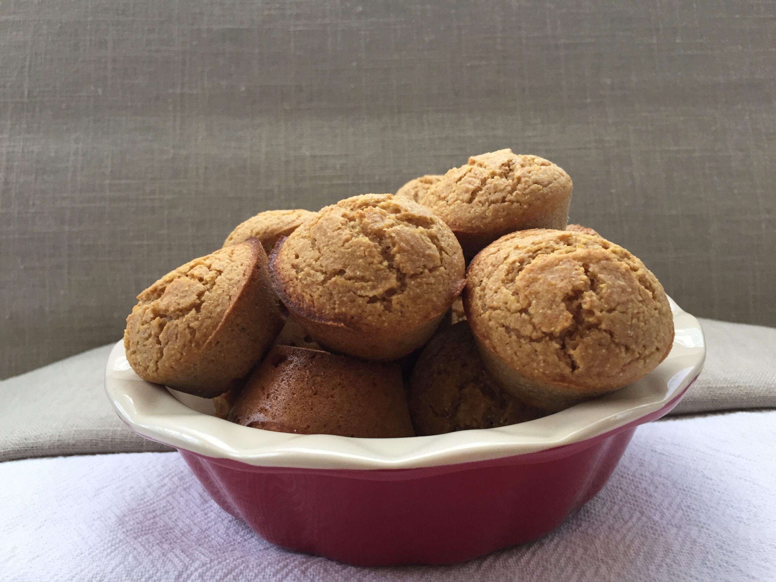 peanut butter corn muffins