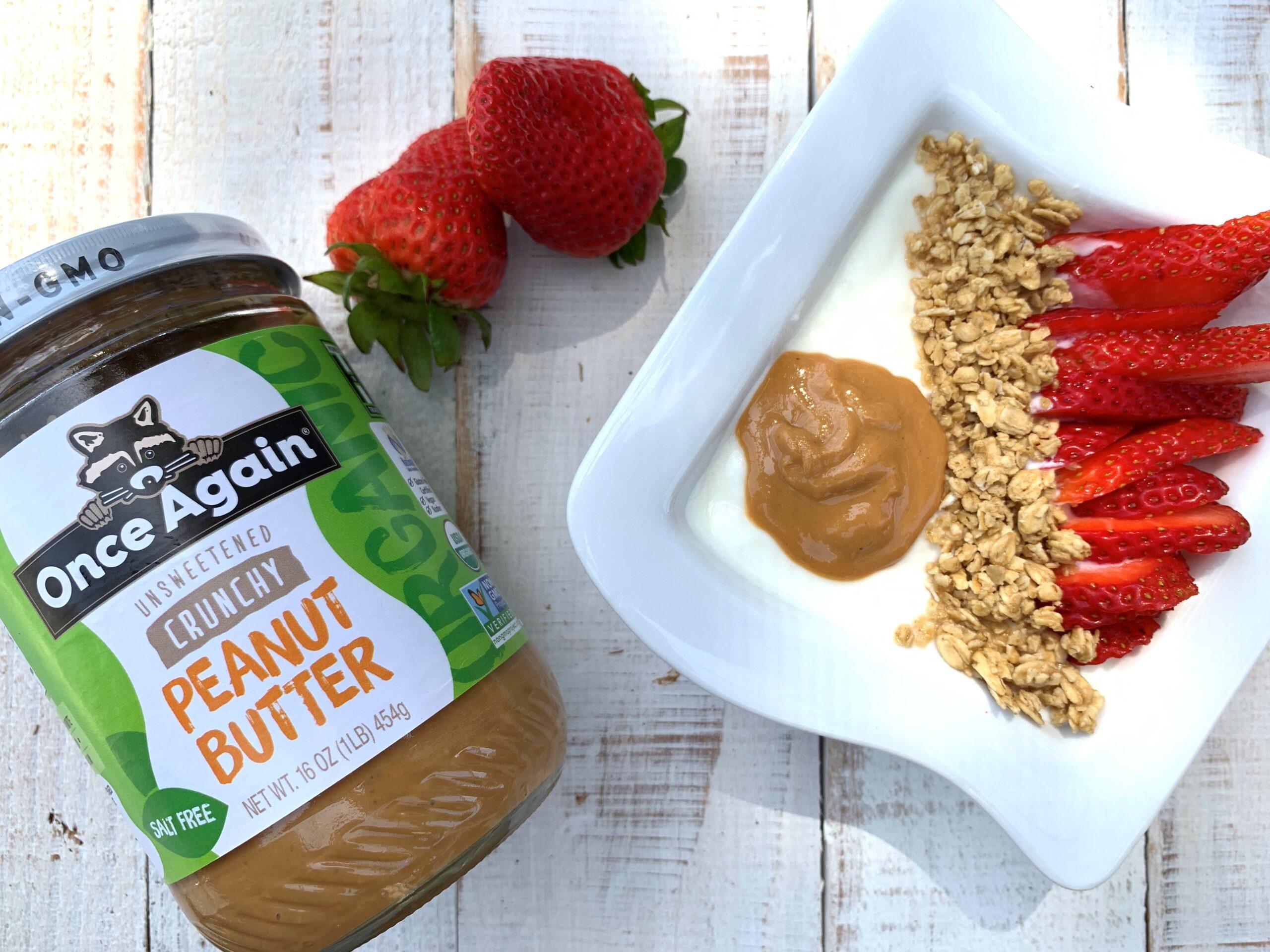 peanut butter yogur