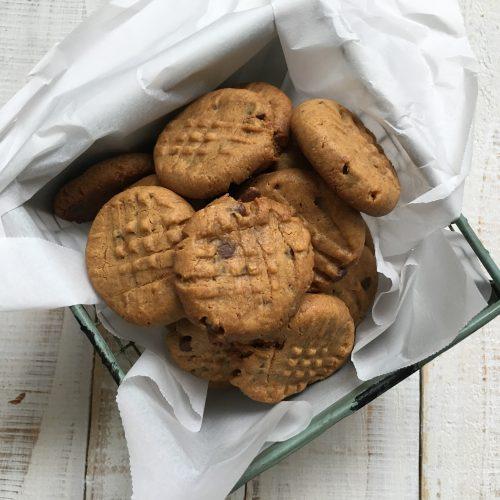 Gluten Free Maple Peanut Butter Cookies