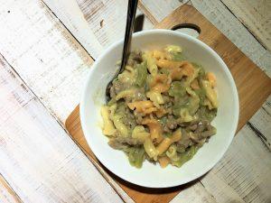 One Pot Turkey Stroganoffff