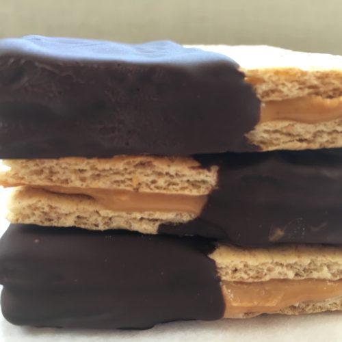 chocolate peanut butter graham crackers