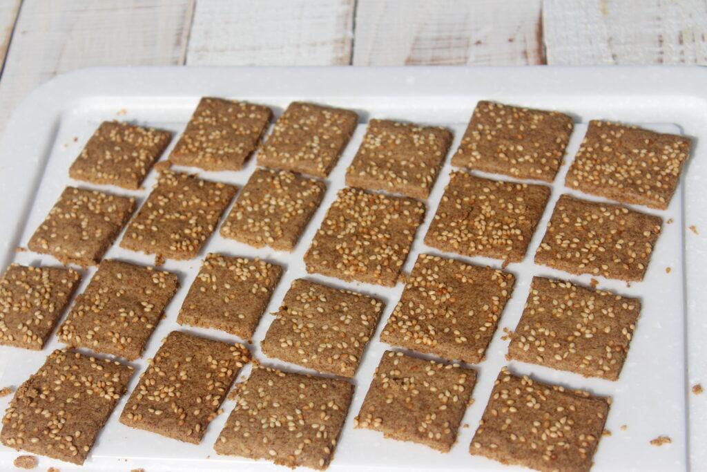 Tahini Savory Cracker