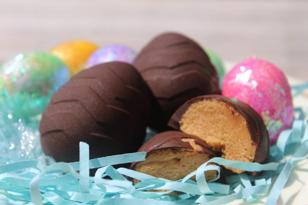 Chocolate Peanut Butter Egg