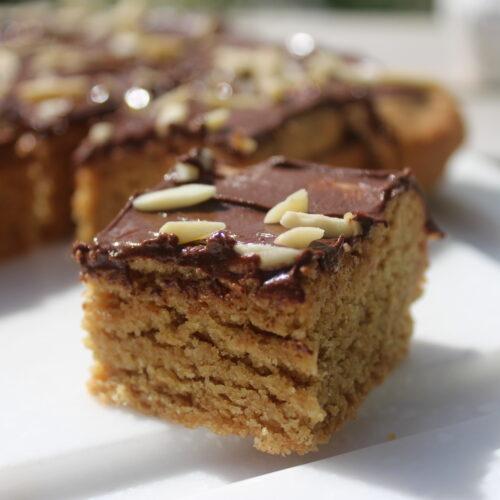 Sweet Almond cookie Bar