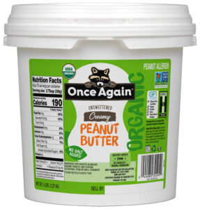 organic peanut butter bulk