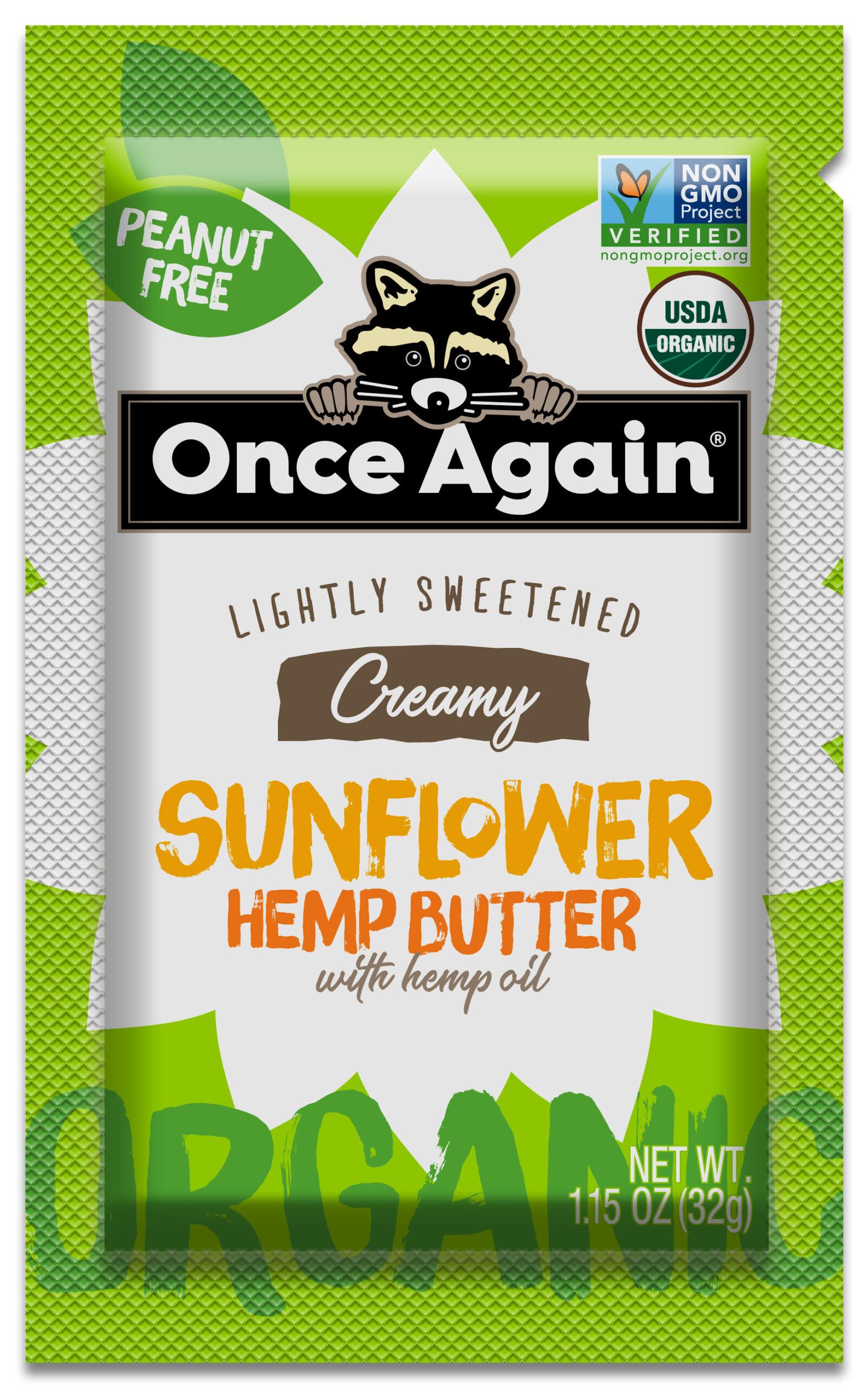 Sunflower Hemp Squeeze packs